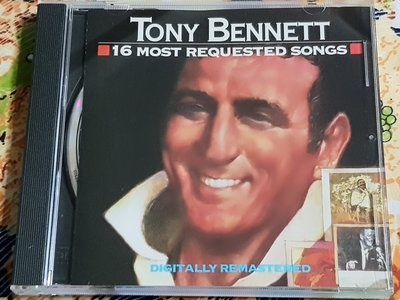 R西洋男(二手CD)TONY BENNETT~16 MOST REQUESTED SONGS