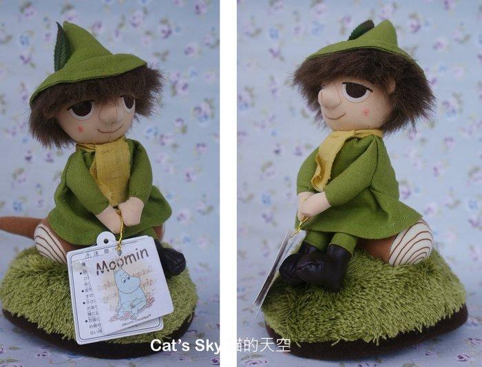 《Cat Sky》日本SEKIGUCHI超可愛moomin.嚕嚕米好朋友阿金玩偶旋轉音樂鈴
