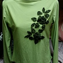 全新淺綠色長袖上衣