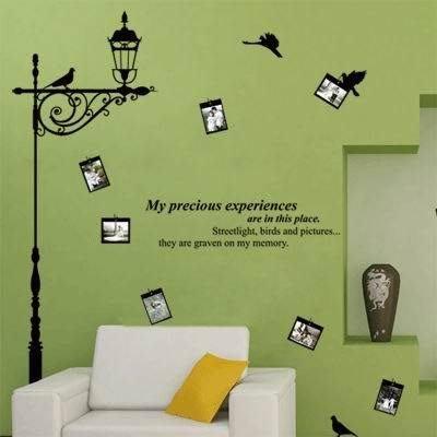 小妮子的家@路燈鳥壁貼/牆貼/玻璃貼/汽車貼/磁磚貼/家具貼