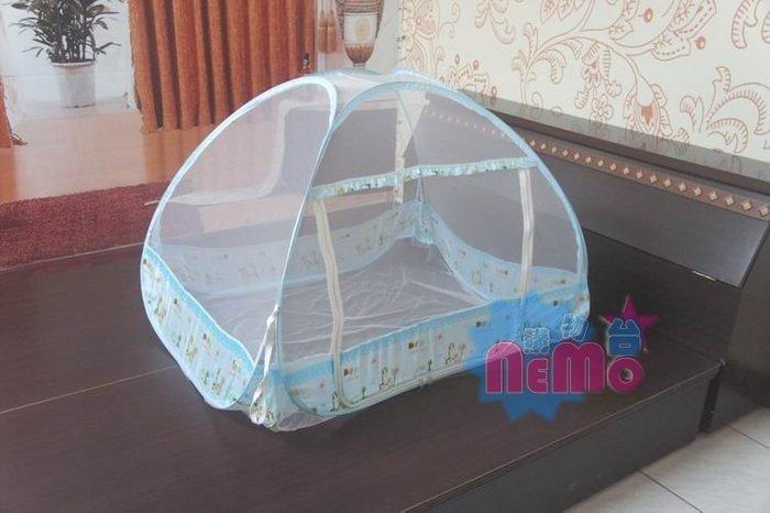 【nemo生活家飾館】兒童蒙古包蚊帳/藍色