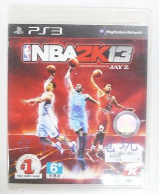 PS3 美國職業籃球 NBA 2K13 (中文版)**(二手片-光碟約9成8新)【台中大眾電玩】 台中市
