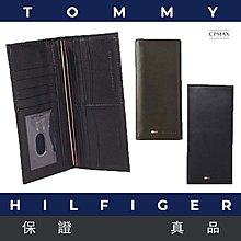 原裝正品 Tommy Hilfiger質感真羊皮男士長夾 原廠正品 男皮夾 長夾 羊皮長夾 真皮皮夾 專櫃皮夾【L32】