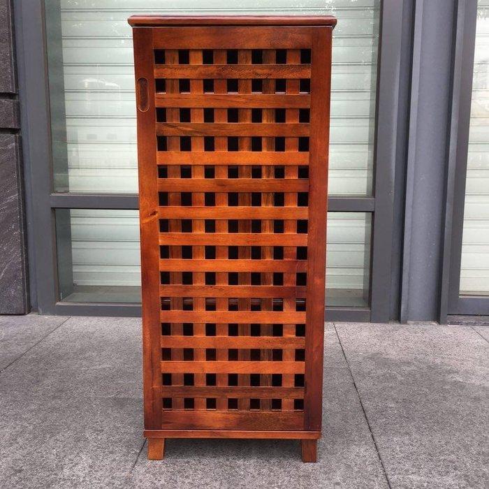 凱蘭1.5尺實木鞋櫃 (鞋叉/收納櫃/石木/百葉/shoe rack)