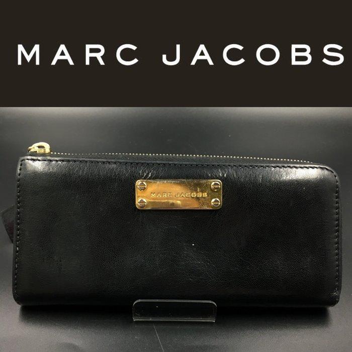 【皮老闆】二手真品 美國精品 Marc Jacobs 皮夾 長夾 藍39