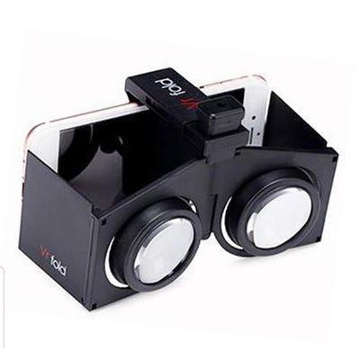 【折疊式虛擬實境VR眼鏡】好攜帶,折疊VR fold眼鏡,3D虛擬實境!現貨! 適用於4.0~6.0手機 高雄市