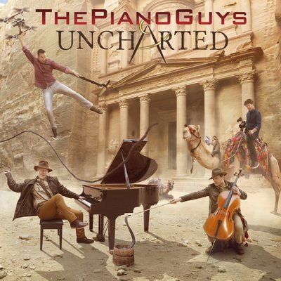 The Piano Guys:Uncharted / 酷音樂團:酷炫秘音 二手CD 九成新