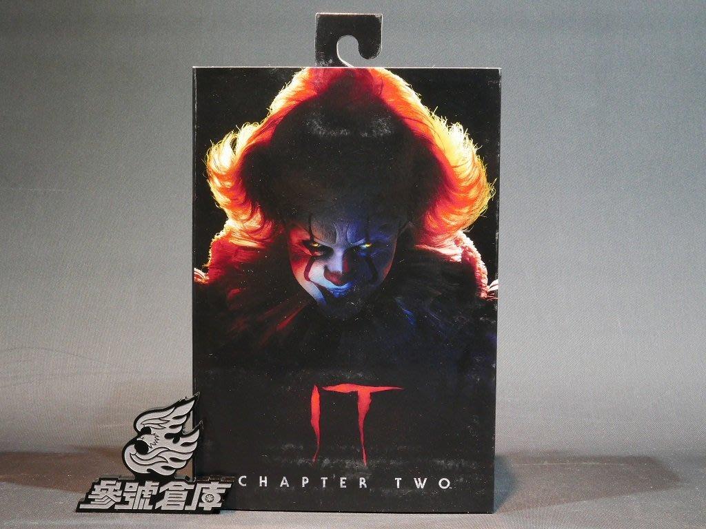 (參號倉庫) 現貨 NECA 牠:第二章 IT Chapter 2 小丑 潘尼懷斯 7吋 可動人偶