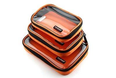 包郵 旅行 手機 相機 攝錄機 平板電腦 3C數碼產品配件分類透明收納整理包 (一套三個)