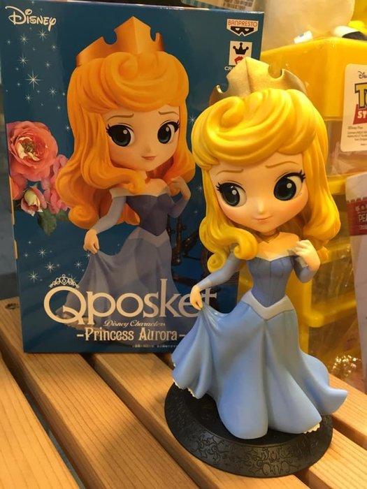 阿虎會社【D - 155】現貨 日本正版 迪士尼 Qposket 睡美人 公仔 模型 異色 qposket