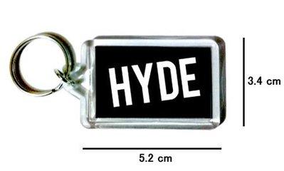 〈可來圖訂做〉HYDE 壓克力雙面鑰匙圈 (可當吊飾)