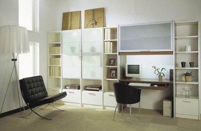 台中系統櫃優惠中--孩臥客臥書房最適雙開門系統收納櫃 { 湯姆 收納專家系統櫃 } 客製化設計