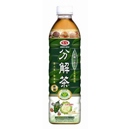 愛之味 健康油切分解茶 1箱590mlX24瓶 特價490元 每瓶平均單價20.41元