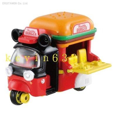 東京都-TOMICA 火柴盒小汽車 迪士尼DM-04 米奇 漢堡餐車 日版 現貨