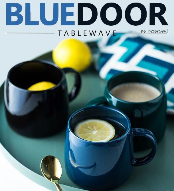BlueD_ 480ML 亮光 馬克杯 茶杯 水杯 咖啡杯 牛奶杯 杯具 北歐風 創意設計裝潢 新居入遷 網美風 IG款