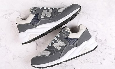 New Balance 灰白 麂皮 復古 余文樂 休閒運動慢跑鞋 CMT580CE 男女鞋
