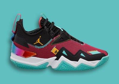 南◇2020 8月 JORDAN WESTBROOK ONE TAKE PF CJ0781-601 籃球鞋 忍者龜 紅藍