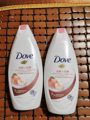 Dove 多芬 多芬桃悦水透沐浴乳200ml-白桃+白茶