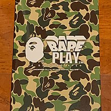 Bape play green camo shark 200% bearbrick 超合金