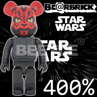 BEETLE BE@RBRICK STAR WARS 星際大戰 DARTH MAUL 達斯摩爾 400%