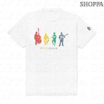 【SHOPPA】ENGINEERED GARMENTS 人物 圖案 棉質 短袖 T恤 上衣 18春夏 白色