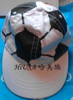 哈美族 原裝 The Children's Place 幼兒 夏日 全棉 足球 棒球帽 M(12-24mos) 1-2歲