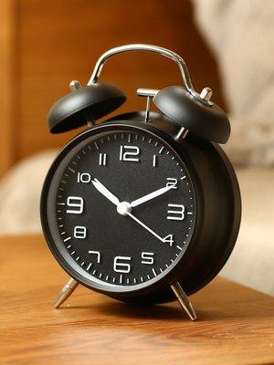 hello小店-鬧鐘聲音超大學生用靜音床頭鐘擺件夜光創意個性懶人卡通兒童專用#計時器#鬧鐘#時鐘#