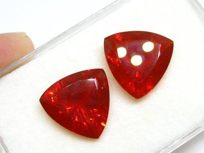 【Texture & Nobleness 低調與奢華】天然無處理 墨西哥紅色蛋白石(紅色歐泊) - 14.3克拉