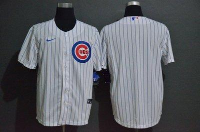 運動專用~MLB球衣棒球服芝加哥小熊隊休閒服男Cubs空白款刺繡球衣