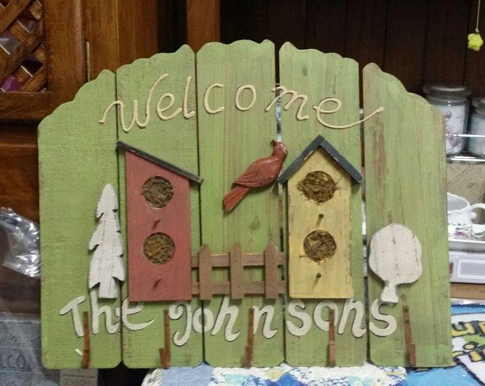 美生活館 美式鄉村刷舊處理 鳥巢造型掛勾架 掛飾 掛畫 店面 民宿 居家