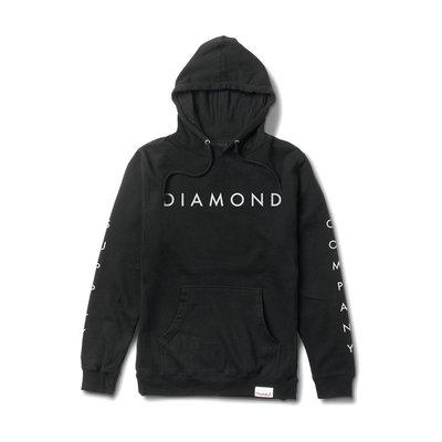 [CABAS滑板店] DIAMOND DIAMOND SUPPLY HOODIE 黑 | 滑板 品牌 鑽石