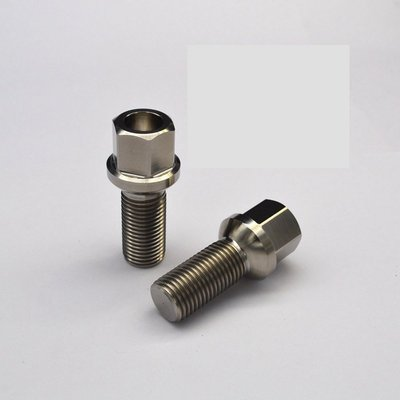 正鈦合金 鋁圈/輪圈 螺絲 鍛造 M14/M12 x P1.5/P1.25 x 28mm/35mm (NT300/支)