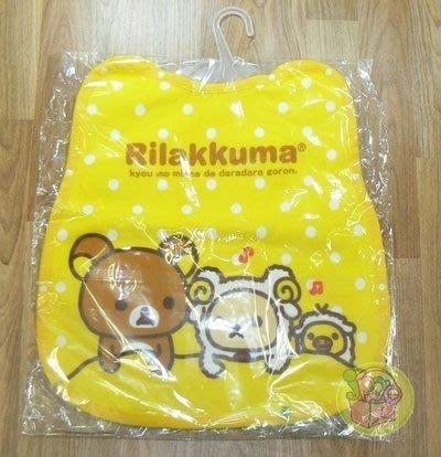 【JPGO】日本製 Rilakkuma 懶懶熊 柔軟棉質 保暖防寒 防踢背心#835