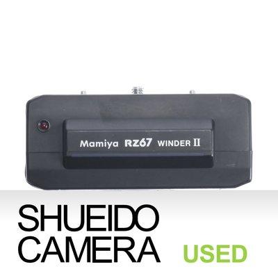 集英堂写真機【3個月保固】中古良品 / MAMIYA RZ67 PRO WINDER II 電動馬達 電動捲片13755