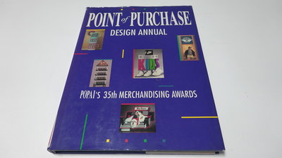 進口商業設計書  《PURCHASE DESIGN ANNUAL2.  POPAI's 36th MERCHANDISING AWARD》 (編號07025)