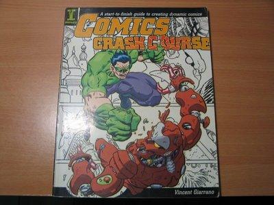 《字遊一隅》*COMICS CRASH COURSE  漫畫技法課程 故事設定 分鏡 上色       B2
