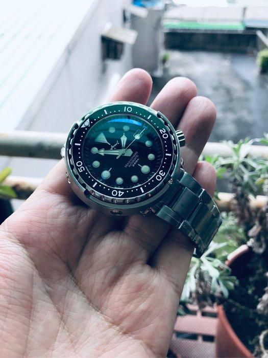 【六樓先生】鯊魚Shark罐頭日本機芯自動上鍊機械錶