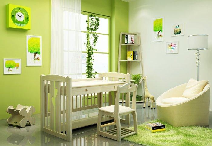 兒童床 嬰兒床 兒童家具  多功能家具 芬蘭松實木床 【嬰兒床】基本款 *兒麗堡*(門市展示品出清)