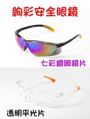 【工業安全網】適合各種臉型的運動/騎車PC材質防護工業安全眼鏡S-003實驗室醫療太陽眼鏡護目鏡抗武漢肺炎防疫可參考
