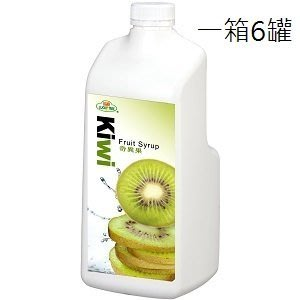【綠盟】福樹牌 奇異果濃糖果汁- 2.5kg*6入/箱--【良鎂咖啡精品館】