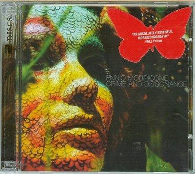 """[原聲帶]-""""Crime and Dissonance-2CDs""""- Ennio Morricone(09-1),美版"""
