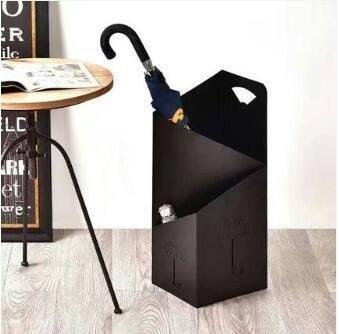 哆啦本鋪 雨傘架 創意雨傘架酒店大堂家用鐵藝傘筒雨傘桶收納桶落地放傘架子D655