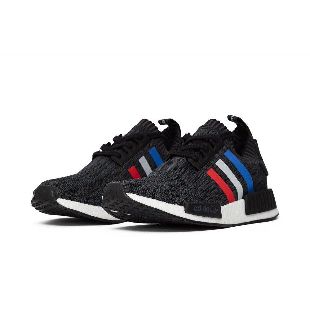 2c499f4e618f3 Adidas NMD R1 PK Tri Color黑雪花藍白紅BMW 休閒情侶慢跑鞋男鞋女鞋BB2887