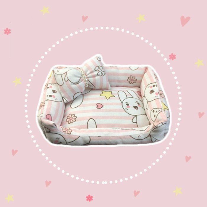 ☂ 糖糖 ☂ 泰國 佛牌 供奉 佩戴型 古曼童 古曼麗 靈貓 用品 還願 手工 小床 沙發 床 -Z1904