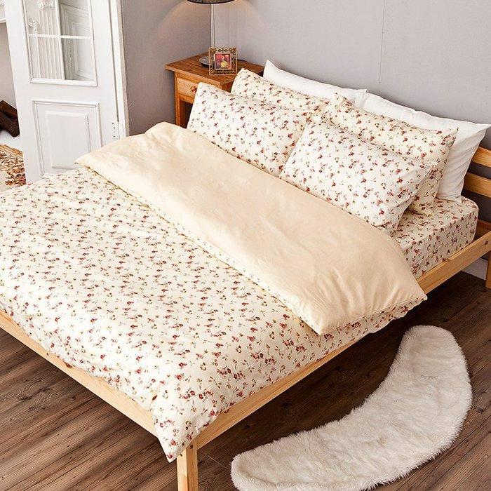 (預購)床包兩用被組 / 雙人【田園童話】含兩件枕套,100%精梳棉,冬夏鋪棉兩用被套,戀家小舖台灣製