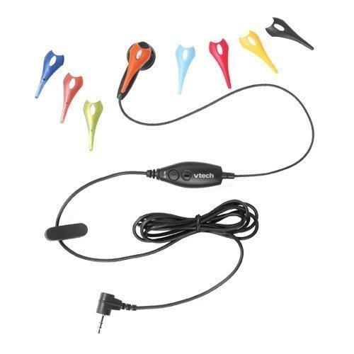 含手機轉接頭,暢銷 歐美日 VTECH VT225 耳麥,靜音 領夾 8色彩更換,音質好,適 電話/總機/手機/無線電話