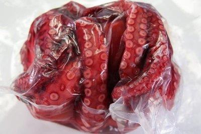 【萬象極品】熟章魚/約1100g±3%/隻~汆燙後即可食用~沾芥末或沙拉~或做章魚燒~方便好吃~