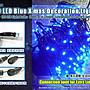 LED聖誕燈串批發價【A- 34- 9】100顆LED藍光星...