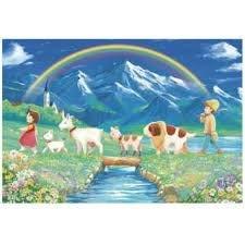 協泰拼圖舖-現貨 BEVERLY 93-126 阿爾卑斯山少女 小蓮 小天使 HEIDI 300片