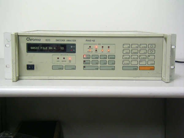 【大台北液晶維修】CHROMA 620 Switcher Analyzer (200W)開關電源分析儀~超低價~